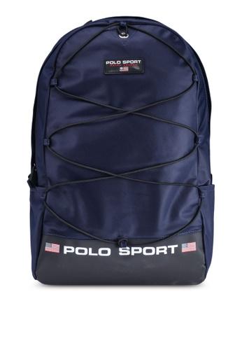 polo ralph lauren navy Polo Sport Nylon Backpack EBD1EACA13A80FGS_1
