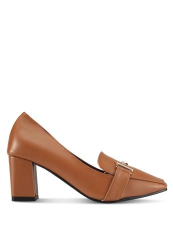 Alfio Raldo brown Pleather Heels FB37DSHE54D18CGS_1