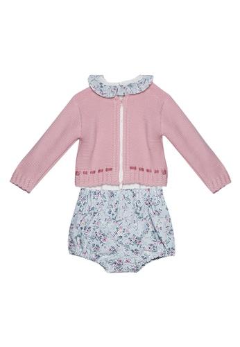 RAISING LITTLE pink Hilda Knit Set F3499KA1CD3CFDGS_1
