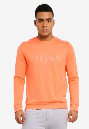 BOSS 紅色 Salbo Sweatshirt - Boss Athleisure BO517AA0STZ3MY_1