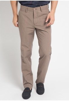 Watchout! Casual brown Officer Pants 1C743AA72EC15AGS 1 108652bc57