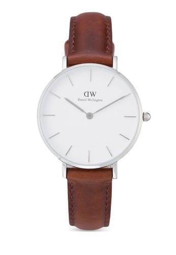 Daniel Wellington brown Classic Petite St Mawes Watch DA965AC0UKT1ID_1