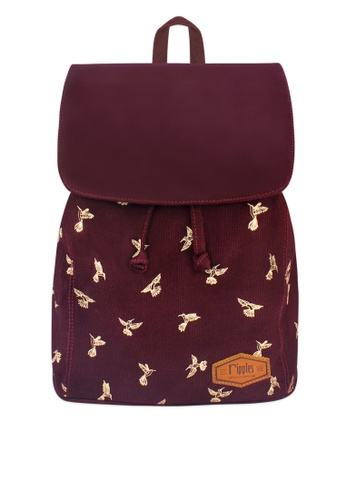 bac88967e9ba Buy Ripples Hummingbirds Ladies Backpack Online on ZALORA Singapore
