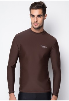 Albert Slim Fit Men's Long Sleeve Rashguard