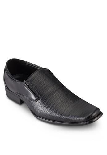 暗紋拼接商esprit手錶專櫃務皮鞋, 鞋, 鞋