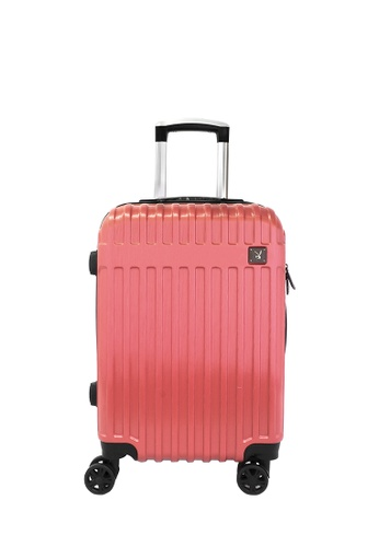 Playboy red 20 inch PLAYBOY LUGGAGE 4E4FDACB4F96FAGS_1