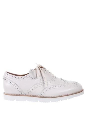 PRODUIT PARFAIT white Oxford Shoes 011EESH84F70F7GS_1