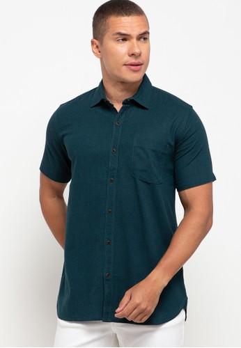 OLLten green O/L-Men Shirt 7AFA8AA92A63E3GS_1