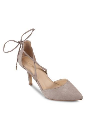 尖頭繫帶高跟鞋, zalora 心得女鞋, 細帶高跟鞋