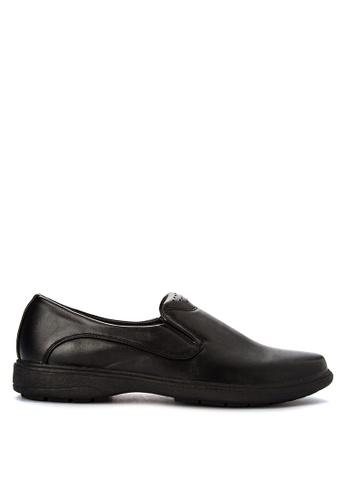 H2Ocean black Mens Casual Slip on Loafers & Moccasins H2527SH0J9TNPH_1