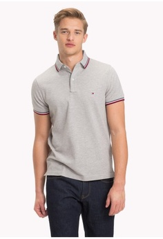0ab9fa549050 Tommy Hilfiger. TOMMY TIPPED SLIM POLO