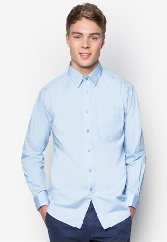 素色長袖襯衫esprit香港分店, 服飾, 服飾