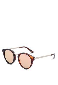 7b6ffe6a8487 Quay Australia brown and pink Gotta Run - Tortoise/Rose Sunglasses  01113GLC65EBA5GS_1