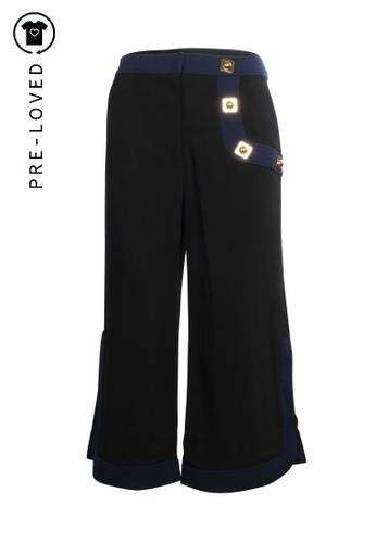 Peter Pilotto black Pre-Loved peter pilotto Kori Pants 3A472AAD976CC9GS_1