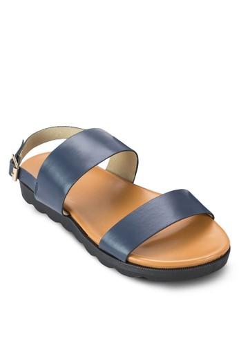 寬帶繞zalora 男鞋 評價踝涼鞋, 女鞋, 涼鞋