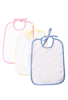 Milky Way Double Cloth Bibs Set of 12