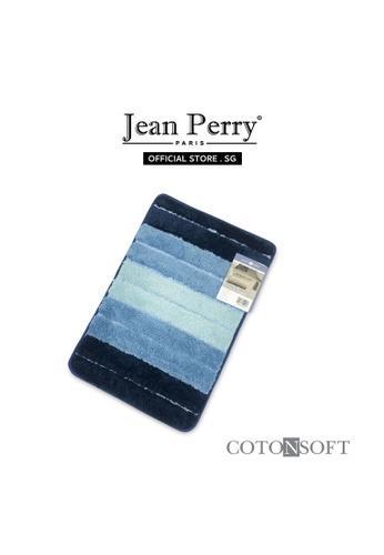 Jean Perry Cotonsoft by Jean Perry Breona Anti-Slip Bath Mat - Aqua 40F0FHLCBE2997GS_1