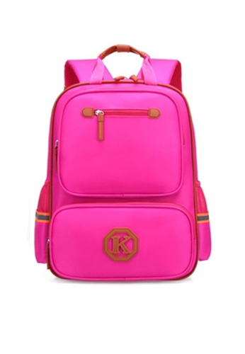 Twenty Eight Shoes pink VANSA Nylon Backpacks VAK-Bp1805 0B1DEKC4B286BAGS_1