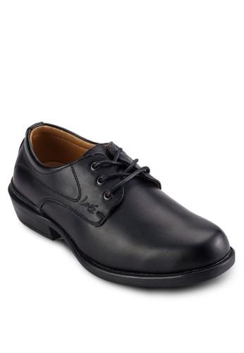 esprit台灣網頁三眼繫帶商務仿皮鞋, 鞋, 鞋