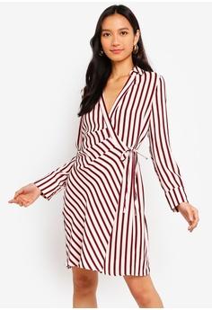 94c80915c25 River Island white and red Roxy Mini Shirt Dress 00154AA92A5369GS 1