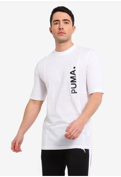 6b1446123adb PUMA white Sportstyle Prime Epoch Tee D0B3EAA19CD3BBGS 1