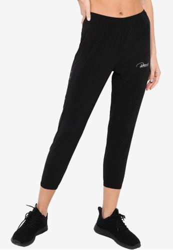 361° black Running Series Sports Cropped Pants ED4E3AAE1DB20FGS_1