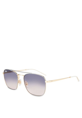 e202dea7ce63 Shop Ray-Ban RB3588 Square Sunglasses Online on ZALORA Philippines