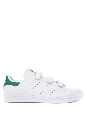 Adidas white adidas originals stan smith   AD678SH60QFBPH_1