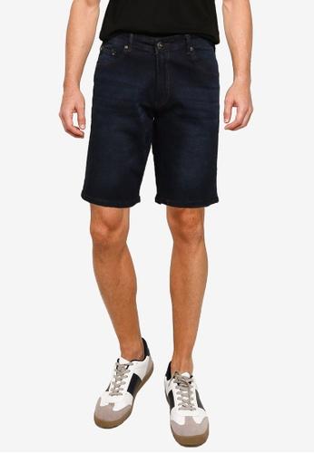 Fidelio blue Denim Casual Shorts 36DC8AA8871BEAGS_1