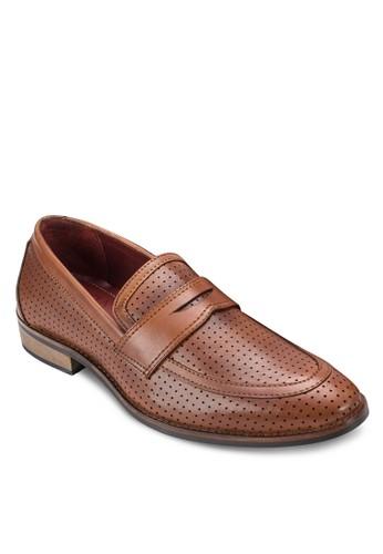 沖孔便士帶樂福鞋, esprit 品牌鞋, 鞋