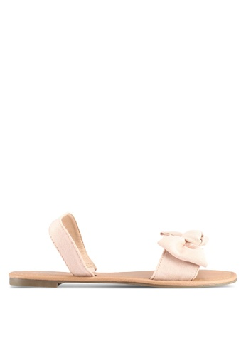 Rubi beige Everday Ellie Bow Slingback Sandals DA103SHED02222GS_1
