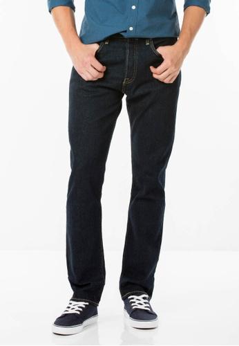 Levi's blue 505™ Regular Fit Jeans LE843AA93ZSCSG_1