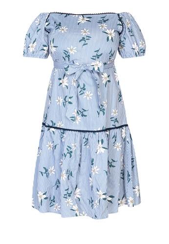 MAGENTTA blue Melissa Dress OS 4C63AAABC325B8GS_1