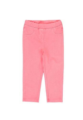 LC Waikiki pink Girl's Denim Leggings A8F0CKA160FC72GS_1