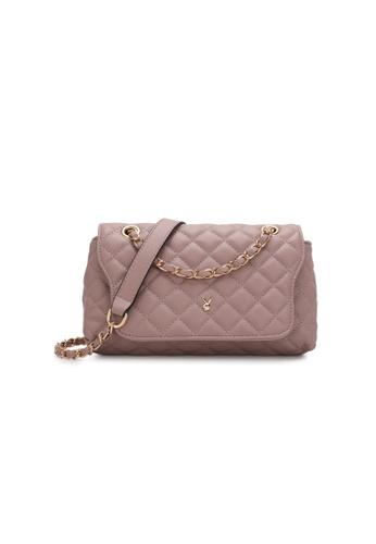 PLAYBOY BUNNY pink Women's Sling Bag / Shoulder Bag / Crossbody Bag 61F8AACE8DEF4FGS_1