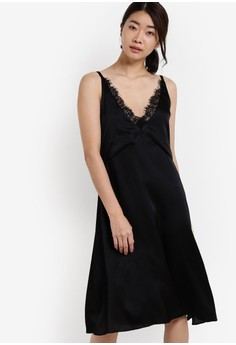 Lace Paneled Nightie