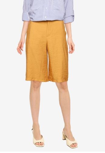 LC WAIKIKI orange Elastic Waist Bermuda Shorts 02BFBAA443A8F1GS_1