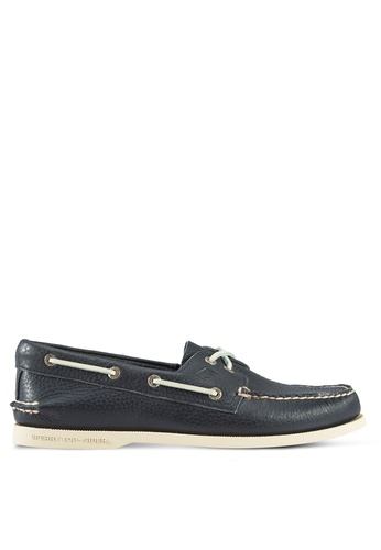 Sperry navy Authentic Original 2-Eye Classic Boat Shoes SP132SH74WIBMY_1