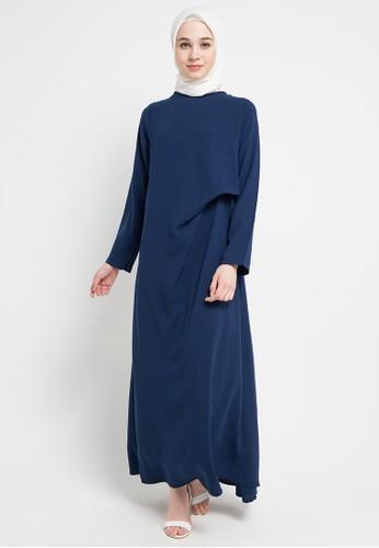 Jual Zumara Drappery Gamis Dress Original Zalora Indonesia