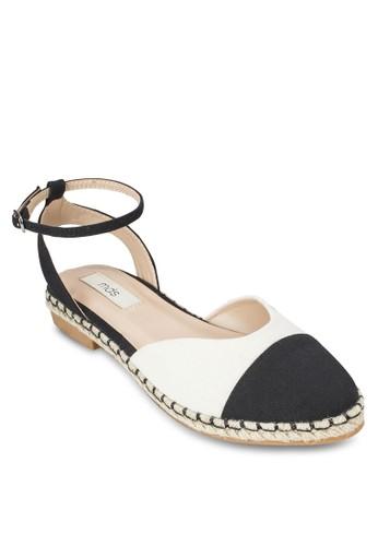 Karina 撞色平底涼鞋, 韓esprit暢貨中心系時尚, 梳妝