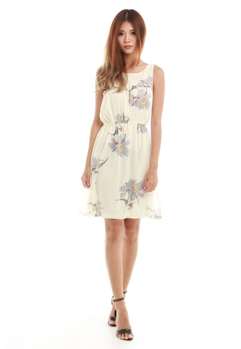 Sophialuv white Brooke Summer Dress in White 8D57EAA196E848GS_1