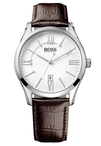 HUGO BOSS white BOSS Ambsr White Men's Watch (1513021) C77DFACE3577EFGS_1