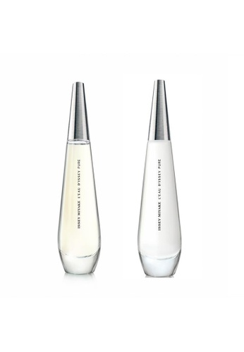 Issey Miyake L'Eau d'Issey Pure EDP and EDT Bundle set IS403BE0GUGISG_1