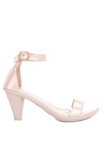 f6e13b9901a Shop Huxley Yaneko Ankle Strap Heeled Sandals Online on ZALORA ...
