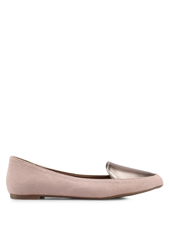 Rubi pink Peta Point Loafers DBE07SHB4E3FEFGS_1