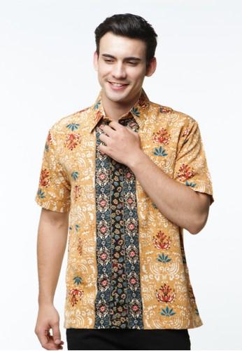 Waskito Hem Batik Semi Sutera - HB 10567 - Brown
