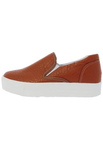 Maxstar C7 30 Synthetic Leather White Platform Slip on Sneakers US Women Size MA168SH22DKBHK_1