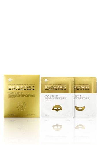 Skin Inc Soothe-N-Purify Black Gold Mask SK423BE61DPYMY_1