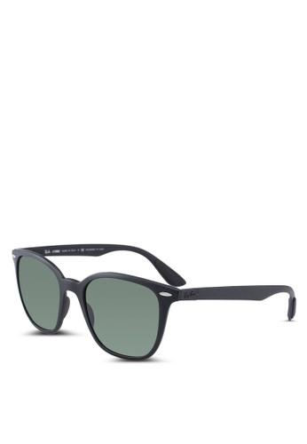 Ray-Ban 黑色 Ray-Ban RB4297 Sunglasses EC8ACGL8A1E0B9GS_1