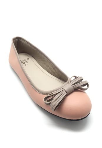 Ballerina Flats pink Phoebe Pink BA617SH56VNNID_1